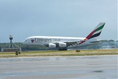 380 Emirates a Malpensa