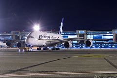 A380 Singapore a Malpensa