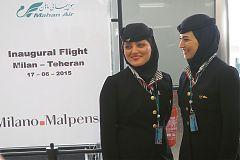 Mahan Air 17/06/15 MXP