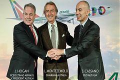 Cassano Montezemolo Hogan Alitalia