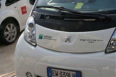 Malpensa auto elettriche