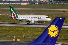 Alitalia Lufthansa